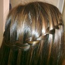 Waterfall Braid (Closer Look)