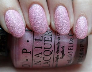 Liquid Sand from the Bond Girls Collection coming out in May! See more swatches & my review here: http://www.swatchandlearn.com/opi-pussy-galore-swatches-review/