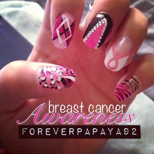 Support breast cancer survivors and research for a cure. <3 Always Believe!