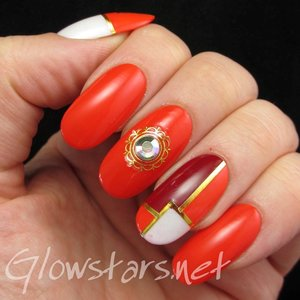 Read the blog post at http://glowstars.net/lacquer-obsession/2014/06/i-heard-a-voice-crying-in-the-deep-come-join-me-baby-in-my-endless-sleep/