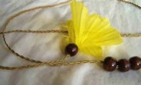 DIY Summer Boho Headband