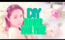 DIY How to make your own Floral Hair piece, Flower Hair Comb Tutorial