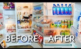 CLEAN & ORGANIZE MY FRIDGE WITH ME | Spring Cleaning 2020