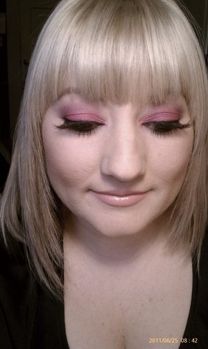 I did this look last year for Pride and the Pink Party in SF. :)