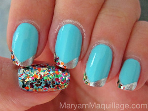 Spring Bling nails. All info on my blog: http://www.maryammaquillage.com/2012/04/spring-bling-nails.html