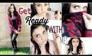 Get Ready With Me | Makeup, Hair, & Outfit