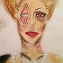 Zombie Pinup Face Chart