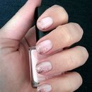 Pink sparkle ombre!