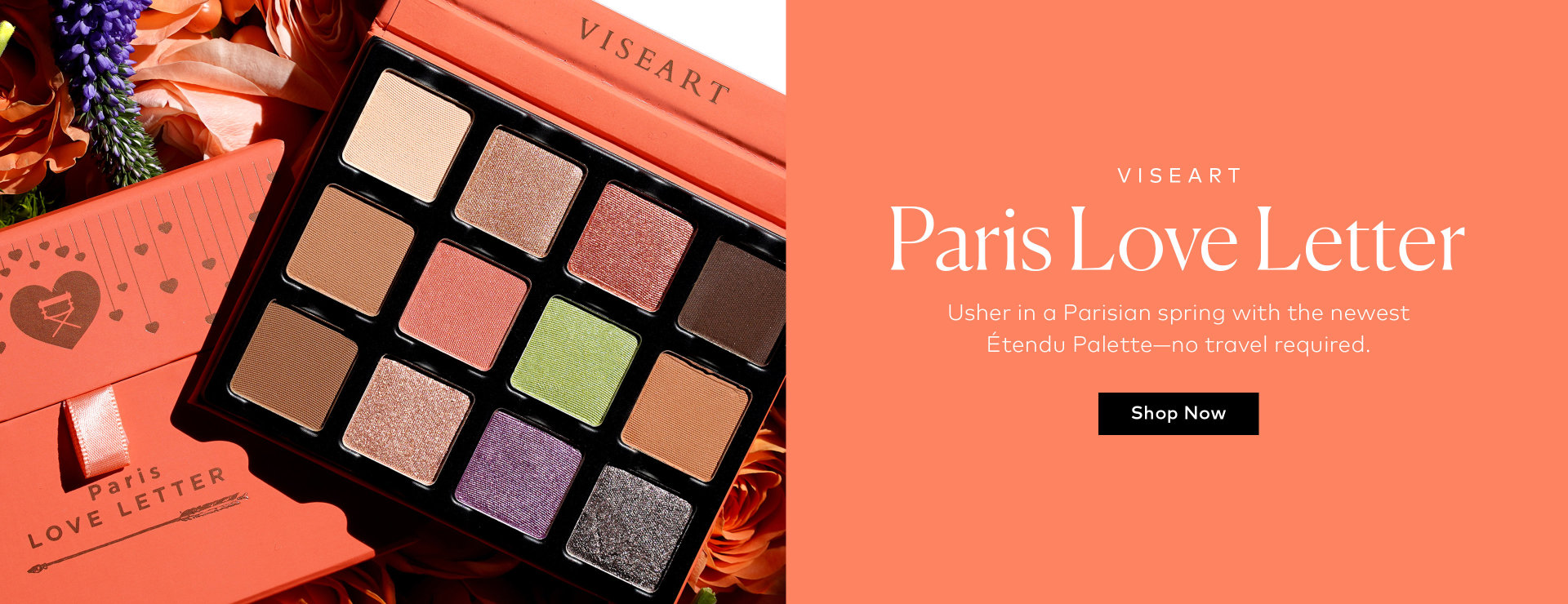 Shop the Viseart Paris Love Letter Étendu Palette on Beautylish.com