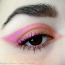 Fun Pink Liner with Mazzie Cosmetics