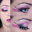 Valentine'S Day - Pink Hearts Eyelashes