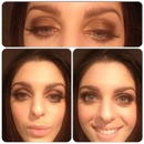 Bronzed Smokey Eyes