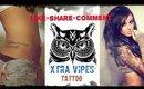 διαγωνισμός με δώρο tattoo αξίας 100 ευρώ