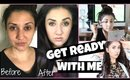 Get Ready With Me - Blemish/Heat Rash coverup