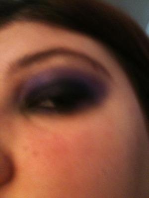 Black and purple gothic