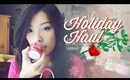 Holiday Fashion & Makeup Hauling! (/•ิ_•ิ)/︵ ❄☃❄ ホリデーの買い物