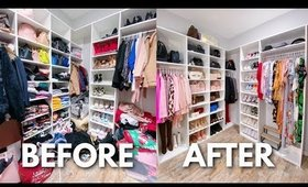 ORGANIZE MY CLOSET WITH ME | SPRING CLEANING 2020