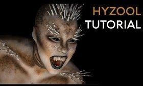 Hyzool | Porcupine FX Makeup Tutorial