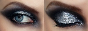 House Stark look for my Game of Thrones series @ http://pigmentsandpalettes.blogspot.com/
