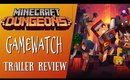 Minecraft Dungeons 💥Trailer Review💥 Just How Excited Are You?!?!