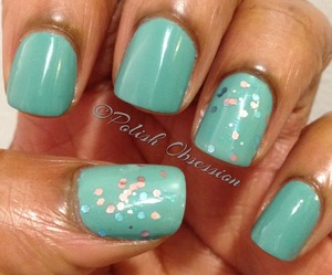Green with Revlon Whimsical