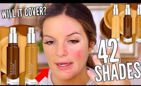 BECCA ULTIMATE COVERAGE FOUNDATION..FULL COVERAGE? LONGWEARING? FIRST IMPRESSION | Casey Holmes