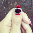 Bloody Demon Killer Nails