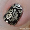Brocade wallpaper nails
