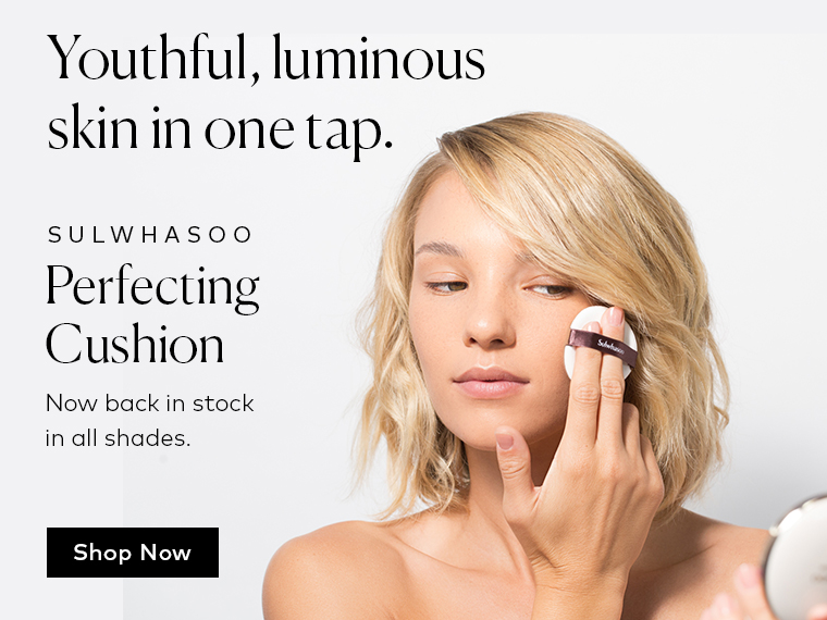 Youthful, luminous skin in one tap – Shop Sulwhasoo Perfecting Cushion