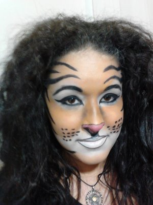 Queen of The Jungle This is my next tutorial look. Let me know what you think.