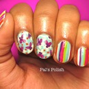 Spring Prints Mix Nails
