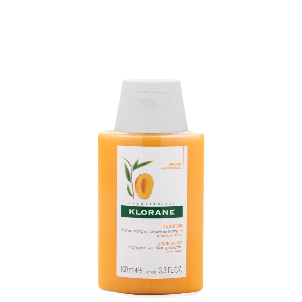 Klorane Shampoo with Mango Butter 3.3 oz product swatch.