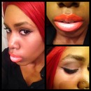 orange sherbet lips