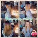 Ombre & Brazilian Blowout