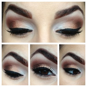 Inspired by a look I saw on Pinterest!