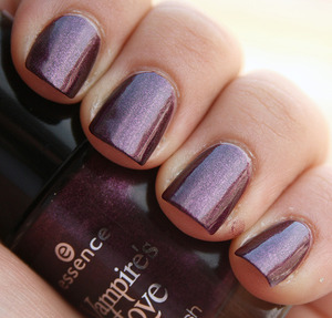 Essence True Love - 2 coats  http://iloveprettycolours.blogspot.com/2012/03/essence-time-for-romance-true-love.html
