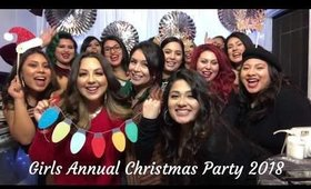 Girls Annual Christmas Party!