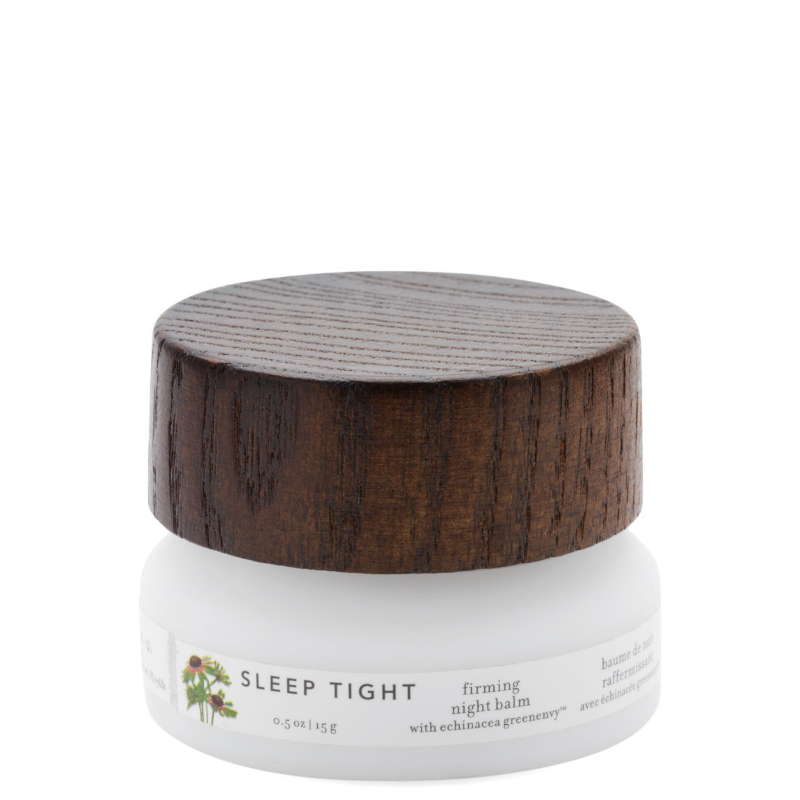 Farmacy Sleep Tight Firming Night Balm product smear.