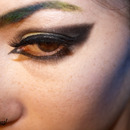 Smoky Colorful Eye & Brows