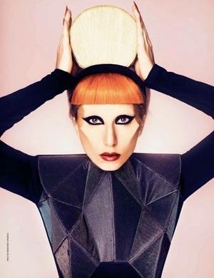 madame FIGARO 2011 - Lady Gaga by Mariano Vivanco 03
