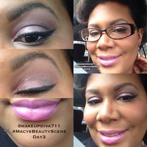 #macysbeautyscene #day3 #springlook #asianflower #maccosmetics #urbandecay #nakedpalette3 #fashionboost #lips #eyes #clinique #makeup #makeupbyme #makeupdiva711 #beatface #happyface