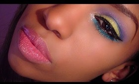 [Spring - Summer 2014] Colorful -Tropical Makeup Tutorial