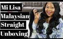 Mi Lisa Malaysian Straight Hair | Unboxing