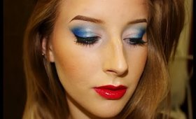 Fourth of July Makeup Tutorial | Urban Decay Electric Palette