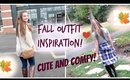 Fall Outfit Inspiration! CUTE & COMFY!