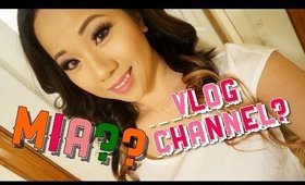 UPDATE: WHY I was MIA? NEW CHANNEL? GIVEAWAY?