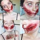 Chelsea Smile Zombie Makeup (Part 4)