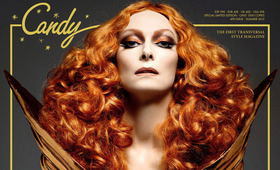 Tilda Swinton Covers Candy Magazine