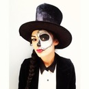 Skull Face Halloween Makeup
