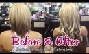 Best Before & After Hair Extensions Portfolio 2014 | Instant Beauty ♡